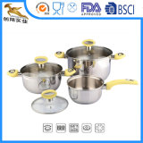 Chef's Classical Stainless Steel 6 Piece Cookware Set (PAL-1614)