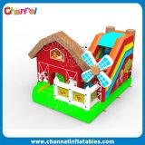 Farm Theme Inflatable Bouncer Combo Inflatable Castle Slide