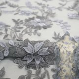 Wholesale Wedding 3D Flower Lace Fabric African Net Lace Fabric