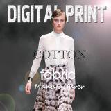 Silk Cotton Print, 30% Silk 70% Cotton, 9mm, 12mm, 14mm (M085)