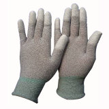 Gloves Double Nitrile Dipped Hppe Gloves Work Glove Cut Resistant
