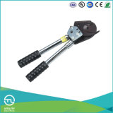 Silver Black Insulated Hand Cable Cutter for Steel Wire