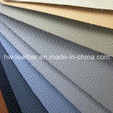 Classic Lychee PU Coated Microfiber for Car Seat Covers Hw-104