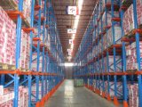 Warehouse Storage Pallet System Drive in Rack
