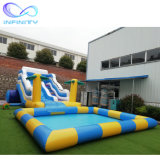 Inflatable Water Slides Kids Large Inflatable Pool Slide Inflatable Water Slides for Sale Commercial