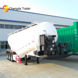 50tons 3axles Aluminum Alloy Bulk Cement Trailer for Sale