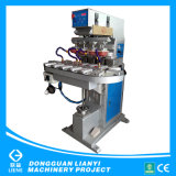 Four Color Sealed Cup Pad Printer with Conveyor