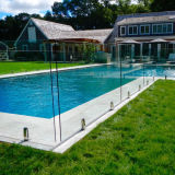 High Safety Clear Float Tempered Glass Pool Fence, Glass Pool Fence Price