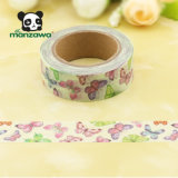2017 August Design Colorful Butterfly Japanese Washi Paper Masking Tape Wholesale