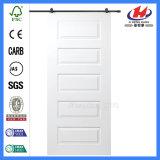 HDF Molded PVC Solid Wood Barn Door