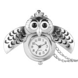Fashion Unisex Vintage Smart Owl Necklace Watch