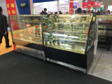 3-Shelf Double Curved Glass Display Cake Refrigerator Showcase