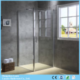 European High Quality Pivot Door Shower Cabin with Telescopic Support Bar (9-3290)