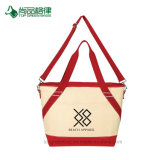 Wholesale Economical Customize Logo Printing Canvas Cooler Tote Bag
