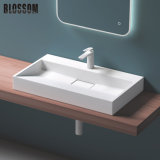 Tabletop Artificial Stone Art Cabinet Washing Wash Price Bathroom Basin