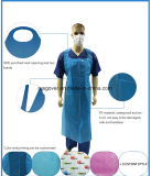 Medical Use PE Apron Waterproof Disposable HDPE LDPE Plastic Apron for Hospital