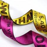 Custom Size Nylon Jacquard Logo Webbing Belt