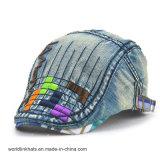 Wholesale Custom Denim Fabric Children Fashion Cap IVY Cap