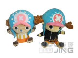 One Piece Cartoon Person Choba Plush Doll for Gift