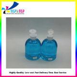 Custom Cheap 500ml Transparent Liquid Soap Sanitizer Hand Washing Bottle Pet Plastic Bottles