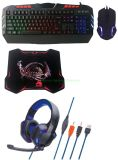 4 in 1 Gaming Combo for Backlight Mouse/Keyboard/Headset/Mouse Pad