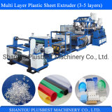 PP-PS Multi Layer Sheet Extruder Line for Plastic Box, Tray, Container
