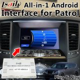 All-in-1 Plug&Play Android Interface GPS Navigator for Nissan Patrol with Google Play, Yandex, Youtube, OEM Buttons Control