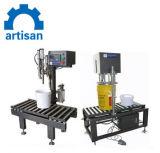 Cooking Oil Weigh Filler/Food Grade Weighing Filling Machine/Oil Filling Machine