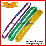 1t -3t Endless Flat Polyester Webbing Lifting Sling L=2m for Cargo (customized)