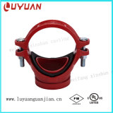 FM/UL Listed Ductile Iron Clamp with BSPT Thread for Fire Safety System