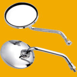 Silver Motorbike Rearview Mirror, Motorcycle Rear Mirror for Mototcycle