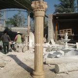 Sandstone Marble Column Stone Sculpture (SY-C021)