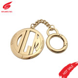 50mm Round Shape Hollow Logo Metal Patch Tag, Custom Gold Metal Logo for Handbags