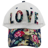 Colorful Fabric Felt Applique Leisure Golf Baseball Cap (TMB0594-1)