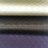 Metallic PVC Synthetic Leather for Upholstery