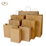 High Quality Kraft Paper Bag Paper Handle Bag Take Away Food Bag Gift Bag Craft Paper Bag Recycled Paper Bag Shopping Bag with Flat or Twist Handles