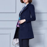 New Model Long Sleeve Wind Coat, Ladies Formal Coat Designs