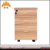 Wooden Color Metal Mobile Pedestal Cabinet
