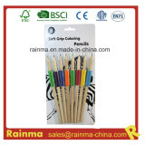 Nature Wooden Colouring Pencil with Soft Grip