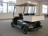 Cheap 2 Seaters Electric Cart with Cargo Box