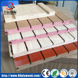 Decorative Panel Grooved Plywood/MDF with U V Slots
