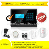 Wireless GSM Home Security Burglar Alarm System with iPhone&Android APP --Yl-007m2e