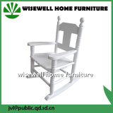 (W-G-C1095) Pine Wood Children Rocking Chair in Living Room