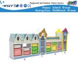 Hot Sale Kids Toys Wooden Kids Shelf Storage Cabinet Furniture Sets Hc-3303
