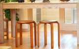 Solid Wooden Stool Round Stool (M-X2101)