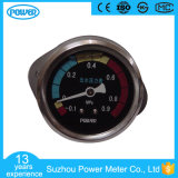 40mm Stainless Steel Glycerin Filled Water Pressure Gauge with Clamp
