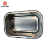 Fast Food Aluminum Foil Container Sealable/Retortable Aluminum Tray with Lid
