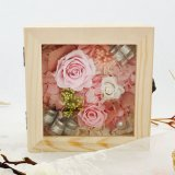Hot Sell New 2018 Gift Unfading Preserved Flower Rose Gift Box for Wedding