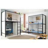 American School Home Furniture Bedroom Metal Bunk Beds