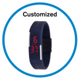 Cheaper Price Promotional Programmable LED Digital Silicone Sport Watches